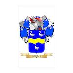Waghen Sticker (Rectangle 50 pk)