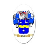 Waghen 20x12 Oval Wall Decal