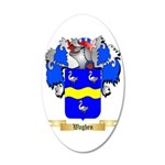 Waghen 35x21 Oval Wall Decal