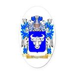 Waggoner Oval Car Magnet