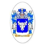 Waggoner Sticker (Oval 50 pk)