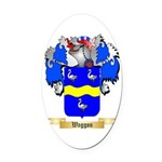 Waggon Oval Car Magnet