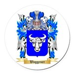 Waggener Round Car Magnet