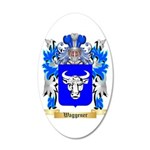 Waggener 20x12 Oval Wall Decal