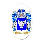 Wagener Oval Car Magnet