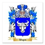 Wagen Square Car Magnet 3