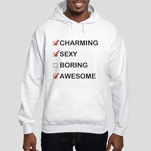 Not Boring Hooded Sweatshirt