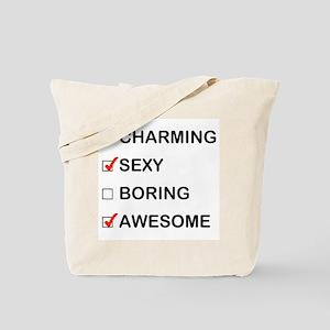 Not Boring Tote Bag