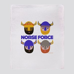 The Norse Force Throw Blanket