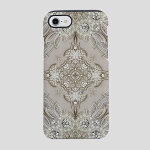 glamorous girly Rhinestone l iPhone 8/7 Tough Case