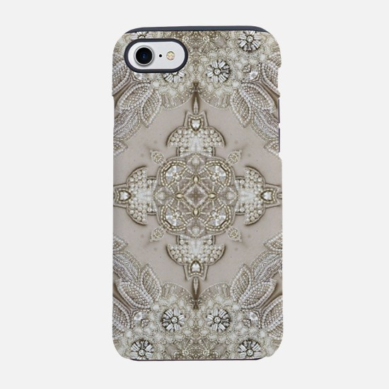 glamorous girly Rhinestone l iPhone 8/7 Tough Case