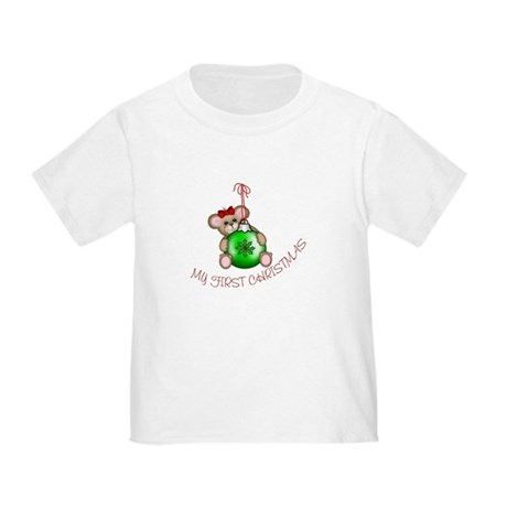 First Christmas Mouse Toddler T-Shirt