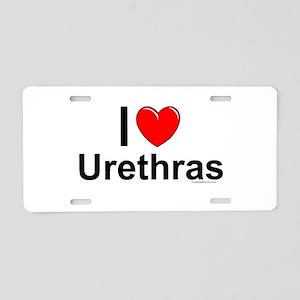 Urethras Aluminum License Plate