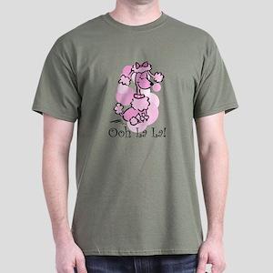 Ooh La La Poodle Dark T-Shirt