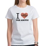 I Love The Arctic - Arcus Logo Womens T-Shirt