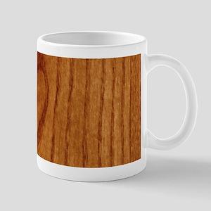Wood Heart Mugs