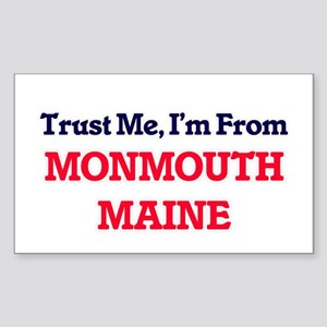 Trust Me, I'm from Monmouth Maine Sticker