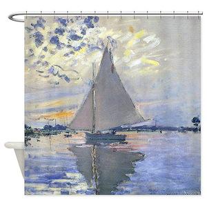 Sailboat Shower Curtains