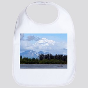 Denali, forest, river, mountains, Alaska 1 Bib