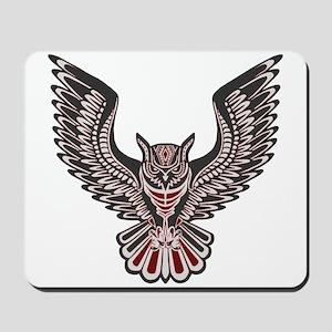 Owl Tattoo Mousepad