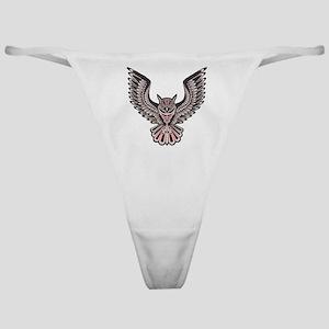 Owl Tattoo Classic Thong