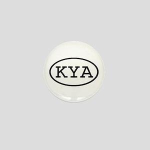 KYA Oval Mini Button