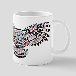 Mystic Owl in Native American Style Mugs