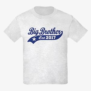 Big Brother Est. 2017 Kids Light T-Shirt