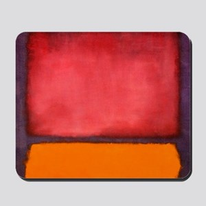ROTHKO ORANGE RED PURPLE Mousepad