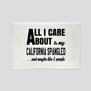 All I care about is my California Rectangle Magnet