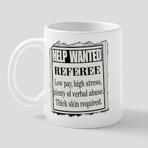 Ref Wanted Mug