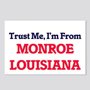 Trust Me, I'm from Monroe Postcards (Package of 8)