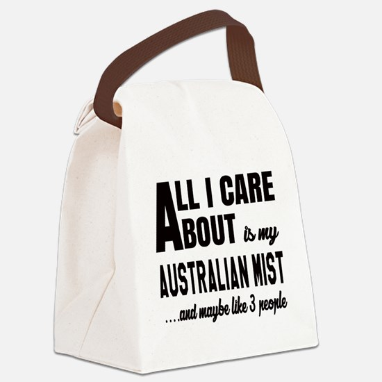 All I care about is my Australian Canvas Lunch Bag