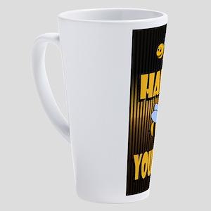BE YOURSELF 17 oz Latte Mug
