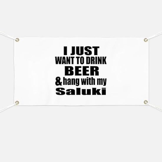 Hang With My Saluki Banner