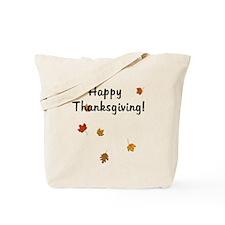 Thanksgiving Leaves Tote Bag