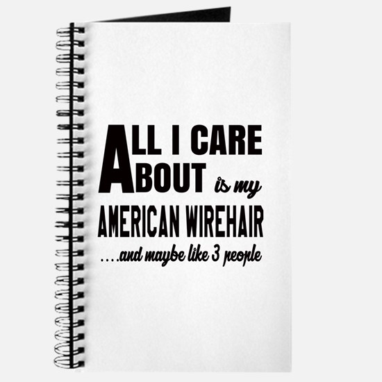 All I care about is my American Wirehair Journal