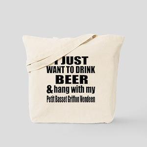 Hang With My Petit Basset Griffon Vendeen Tote Bag