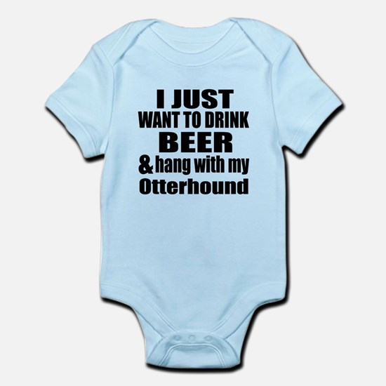 Hang With My Otterhound Infant Bodysuit