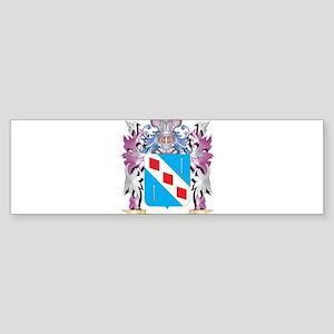 Chesshyre Coat of Arms (Family Cres Bumper Sticker