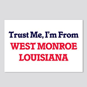Trust Me, I'm from West M Postcards (Package of 8)