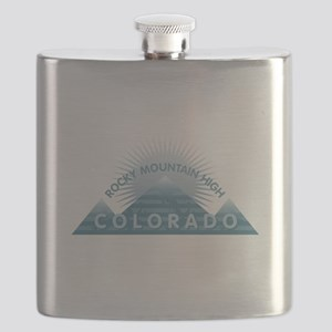 Colorado - Rocky Mountain High Flask