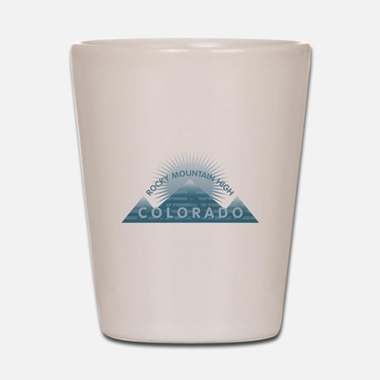Colorado - Rocky Mountain High Shot Glass