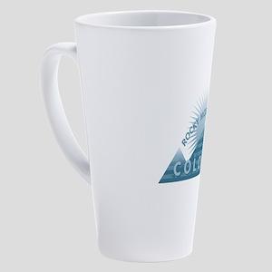 Colorado - Rocky Mountain High 17 oz Latte Mug