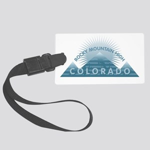 Colorado - Rocky Mountain High Large Luggage Tag