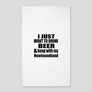 Hang With My Newfoundland Area Rug