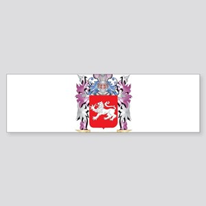 Cheverall Coat of Arms (Family Cres Bumper Sticker
