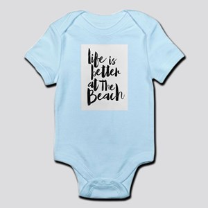 Life is Better at the Beach Body Suit