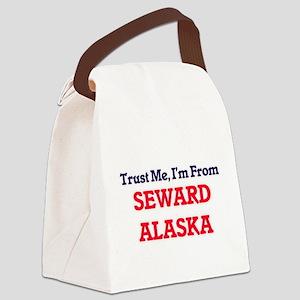 Trust Me, I'm from Seward Alaska Canvas Lunch Bag
