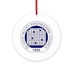 Svec Logo Round Ornament